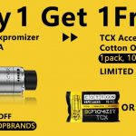 Free Gifts for Exvape Expromizer TCX RDTA