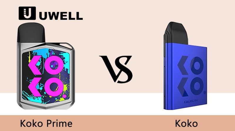 Uwell Koko Prime VS Caliburn Koko