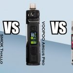Voopoo Argus Pro VS SMOK Thallo VS Drag S