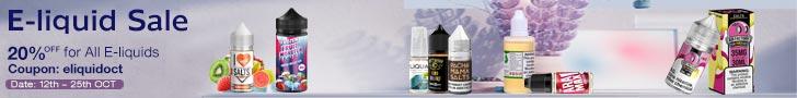 E-Liquid Sale