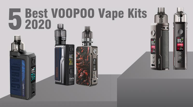 5 Best VOOPOO Vape Kits 2020