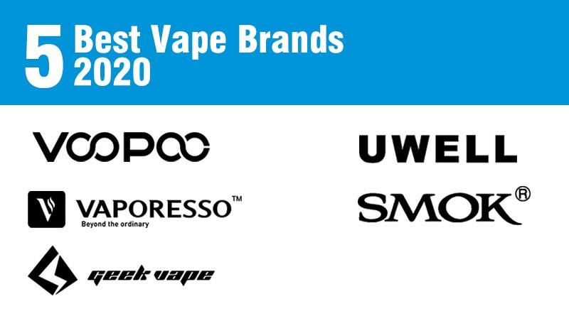 Best Vape Brands 2020