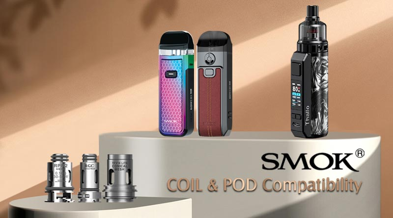 SMOK Coil and Pod Compatibility