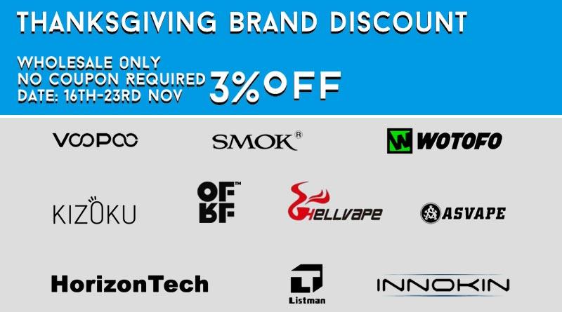 Thanksgiving Brand Discount