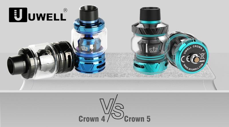 Uwell Crown 5 VS Crown 4