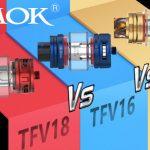 SMOK TFV18 VS TFV16