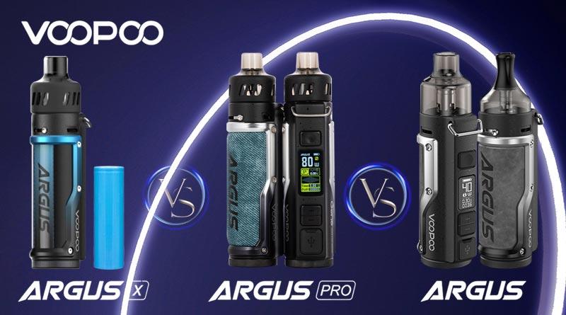 VOOPOO Argus Series Comparison