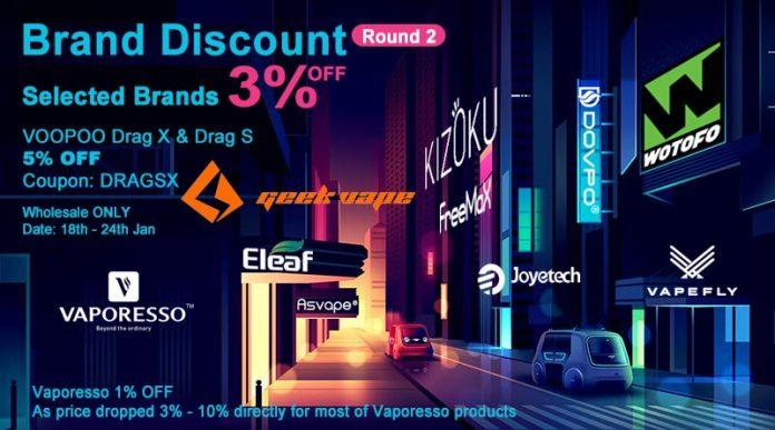 Brand Discount Round 2