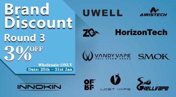 Brand Discount Round 3