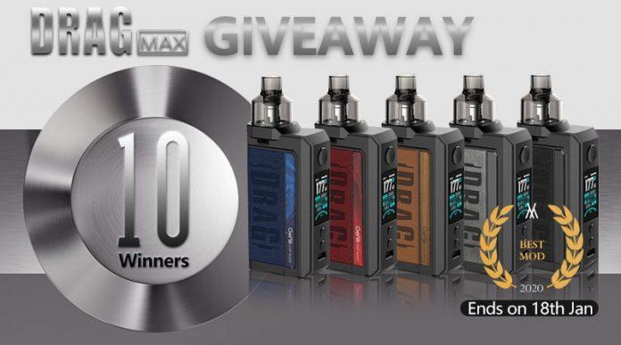 Drag Max Giveaway