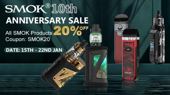 SMOK 10th Anniversary Sale