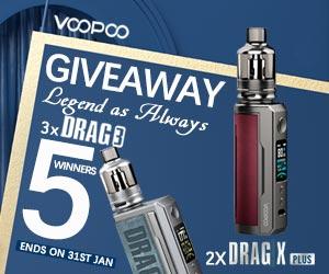 VOOPOO Drag 3 giveaway