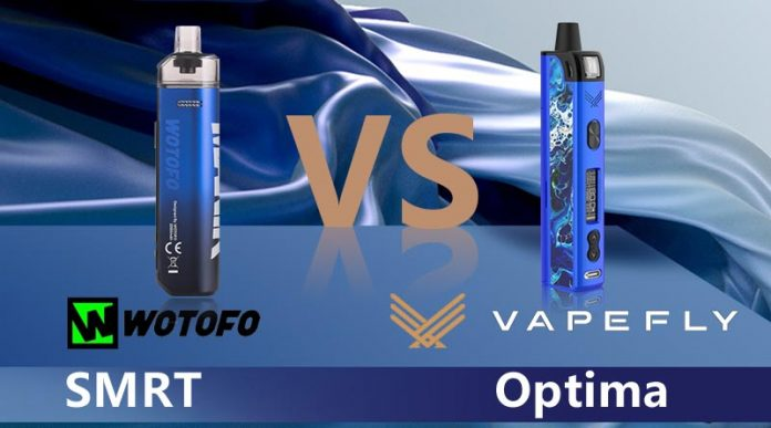WOTOFO SMRT VS VAPEFLY OPTIMA