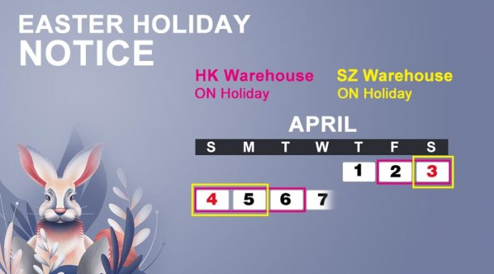 Easter Holiday Notice