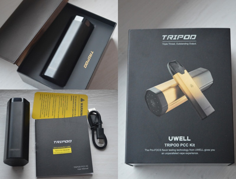 Uwell Tripod Review by Sjoerd