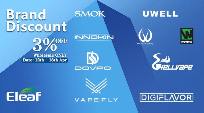 April Brand Discount