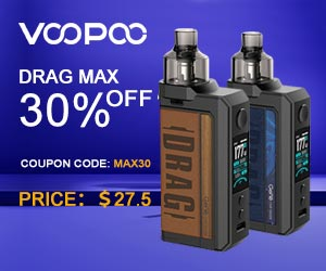 Voopoo Drag Max 30% OFF