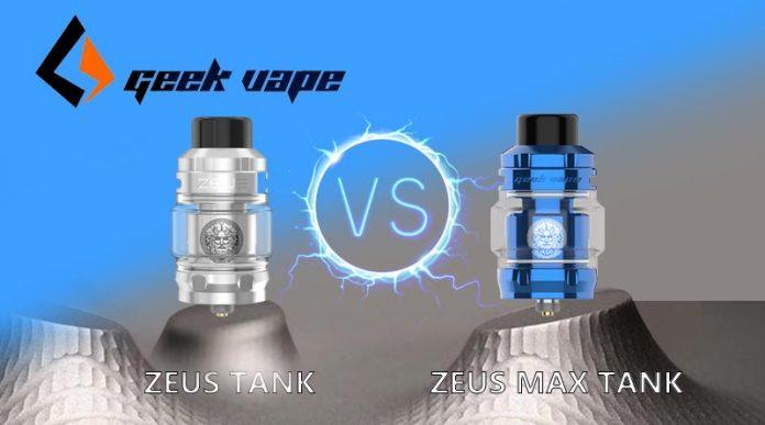 Zeus max vs Zeus