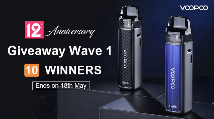 12th Anniversary Giveaway Wave 1-New
