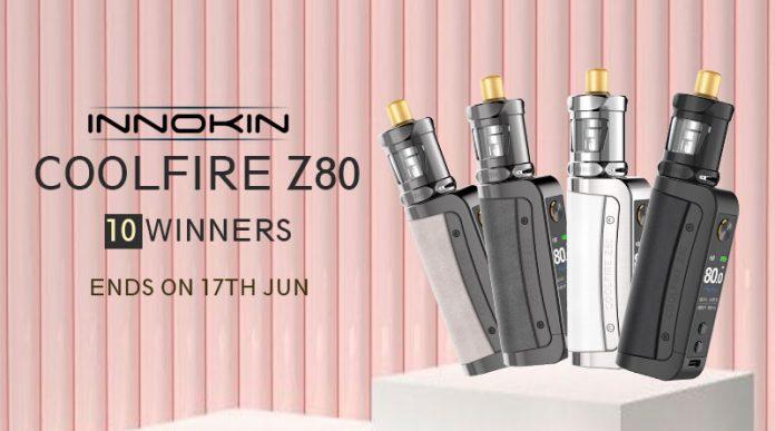 Innokin Coolfire Z80 Kit Giveaway