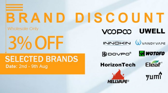 August Brand Discount