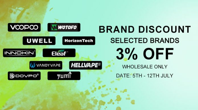 July Brand Discount