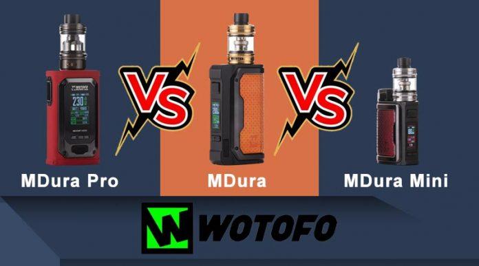 Wotofo MDura series