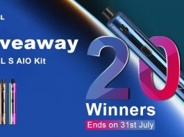 Uwell Whirl S AIO Giveaway