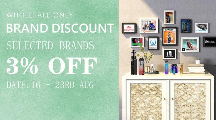 August Brand Discount - Round 2