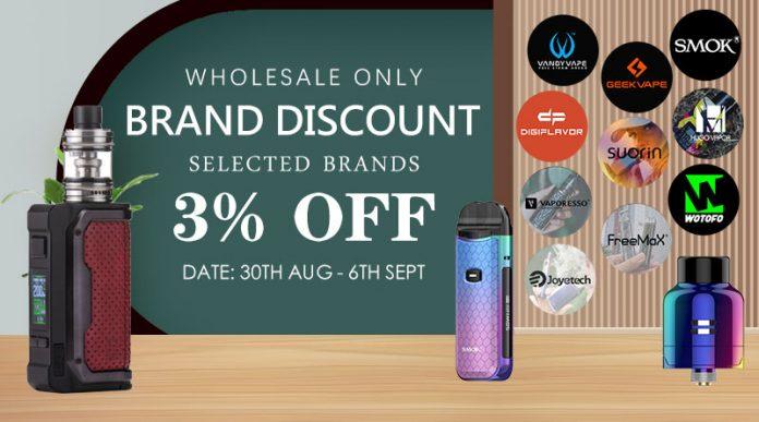 August Brand Discount - Round 3