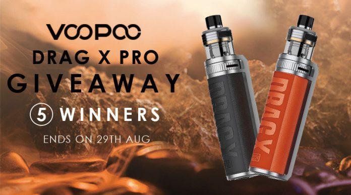 Voopoo Drag X Pro Giveaway-1