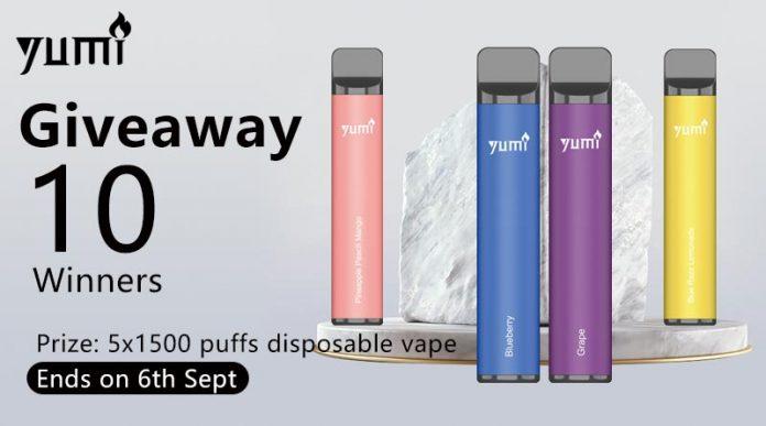 YUMI Bar Disposable Kit Giveaway-1