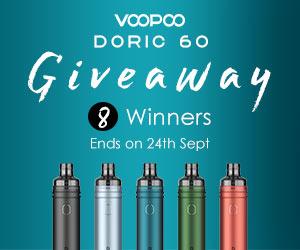 voopoo doric 60 giveaway