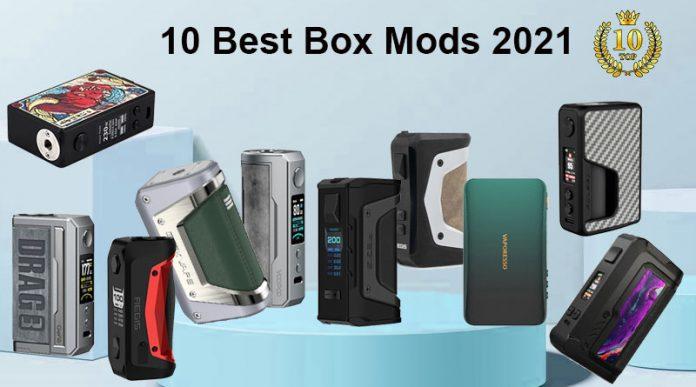 10 Best Box Mods 2021-OCT