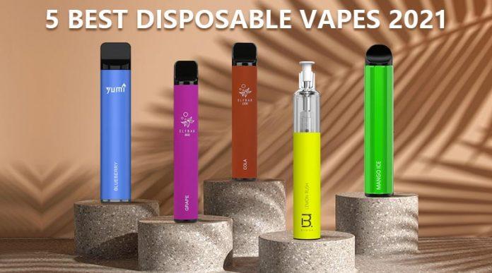 5 Best Disposable Vapes 2021