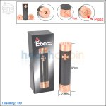 Tobeco Knight 18650 Copper & Carbon Fiber Mod (Clone)