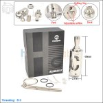 New ! Hcigar HC V2 Stainless Steel Rebuildable Atomizer