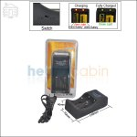 New ! TrustFire TR-006 2 Channel Charger for 26650/18650 Li-ion Battery(US/Euro Plug)