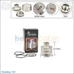 New ! Tobeco Bambino Stainless Steel Rebuildable Dripping Atomizer (Clone)
