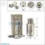 New ! Tobeco Mad Hatter Stainless Steel Rebuildable Dripping Atomizer (Clone)