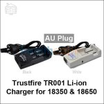 TrustFire TR-001 Lithium ion Battery 2 Channel Charger(AU Plug)