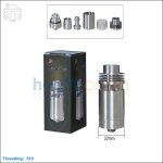 [New product forecasting] Tobeco Silverplay Stainless Steel Rebuildable Atomizer (Clone)