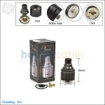 New ! Tobeco Cartel Cascata Black Rebuildable Dripping Atomizer (Clone)