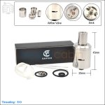 Ehpro Stillare V3 Stainless Steel Rebuildable Dripping Atomizer (Clone)