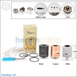New ! Tobeco Plume Veil V1.5 Rebuildable Dripping Atomizer (Clone)