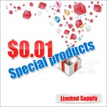 0.01 USD Special Clearance products (Limited Supply)