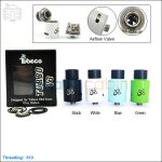 New ! Tobeco Original Turbo v3 Rebuildable Dripping Atomizer