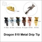 Dragon 510 Metal Drip Tip