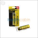 Nitecore Protected ICR 18650 3100mAh Li-ion Battery (Only DHL Shipping)