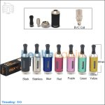 New ! Aspire Vivi Nova-S Glass BVC Clearomizer